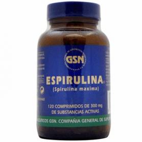 ESPIRULINA 300MG 120comp GSN Plantas Medicinales 8,99€
