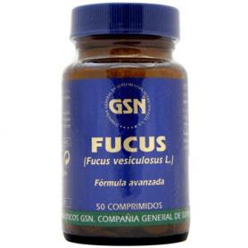 FUCUS 50comp GSN Plantas Medicinales 5,54€
