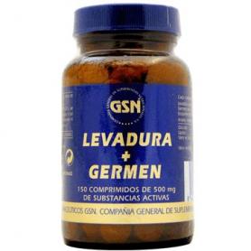 LEV. CERVEZA GERMEN TRIGO 150comp GSN Plantas Medicinales 6,14€