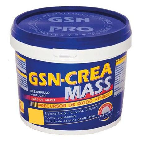 CREA MASS LIMON POLVO 2kg GSN Nutrición Deportiva 39,90€
