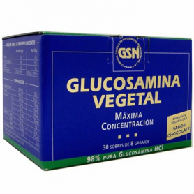 GLUCOSAMINA VEGETAL CHOCO 30sb GSN Suplementos nutricionales 24,23€
