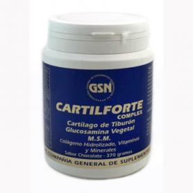 CARTILFORTE COMPLEX CHOCO 370g GSN Suplementos nutricionales 27,70€
