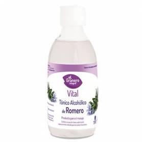 Tónico alcohólico de romero 250ml EL GRANERO INTEGRAL Cosmética e higiene natural 5,59€