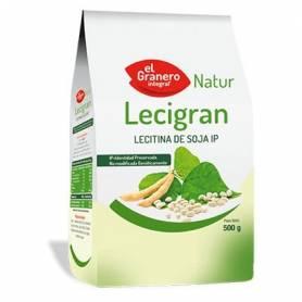 LECIGRAN LECITINA DE SOJA IP NO GMO 500gr EL GRANERO INTEGRAL Suplementos nutricionales 8,43€