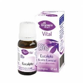 ACEITE ESENCIAL DE EUCALIPTO BIO 12ml EL GRANERO INTEGRAL Cosmética e higiene natural 3,73€