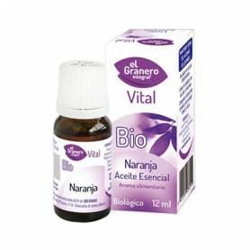 ACEITE ESENCIAL DE NARANJA BIO 12ml EL GRANERO INTEGRAL Cosmética e higiene natural 3,98€