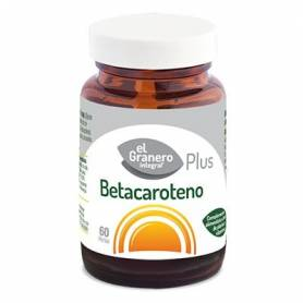 BETACAROTENO PLUS 330mg 60perl EL GRANERO INTEGRAL