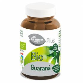 GUARANA PLUS BIO 400mg 90cap EL GRANERO INTEGRAL