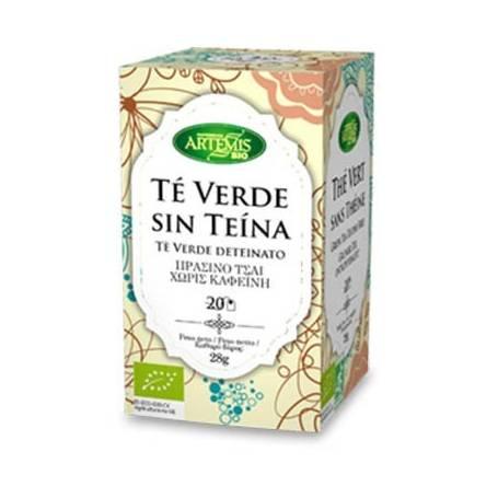TE VERDE S/TEINA INFUSION BIO 20ud ARTEMIS Plantas Medicinales 2,66€