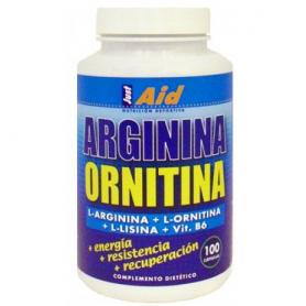 ARGININA ORNITINA COMP 100comp JUST-AID L Arginina 25,11€