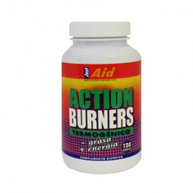 ACTION BURNERS 120cap JUST-AID Nutrición Deportiva 28,49 €