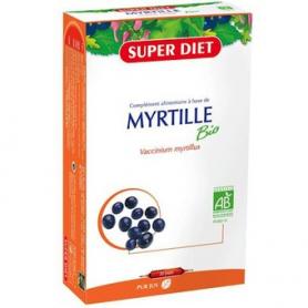 ARANDANO NEGRO BIO 20amp SUPER DIET Suplementos nutricionales 22,94€