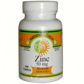 ZINC 50MG 100comp NUTRI-FORCE Suplementos nutricionales 9,08€