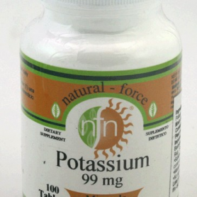 POTASIO 99MG 100comp NUTRI-FORCE Suplementos nutricionales 9,08 €