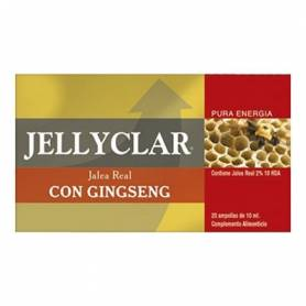 JALEA REAL GINSENG 500 FRUCTOS 20amp DIETICLAR Suplementos nutricionales 23,15 €
