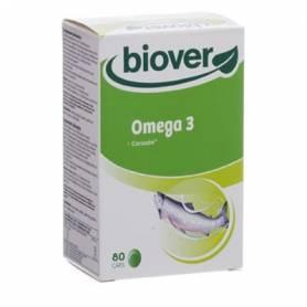 OMEGA 3 80cap BIOVER Suplementos nutricionales 27,19€