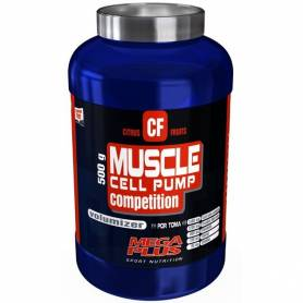 MUSCLE CELL PUMP COMPETITION 500gr MEGA PLUS Nutrición Deportiva 35,07 €