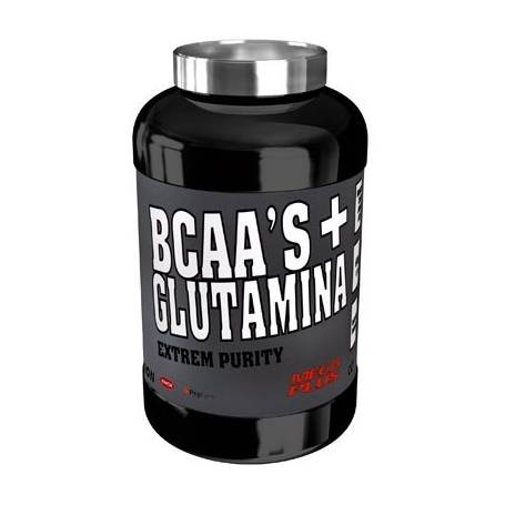 BCAA'S + GLUTAMINA EXTREM PURITY 300gr MEGA PLUS BCAA 29,20 €