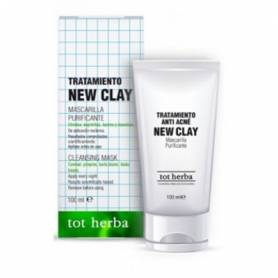 TRATAMIENTO ANTI ACNE NEW CLAY 100ml TOT HERBA