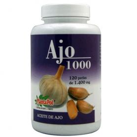 AJO 1000 1400mg 120perl PLANTAPOL Plantas Medicinales 12,94€