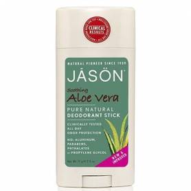 DESODORANTE ALOE VERA STICK 70g JASÖN Cosmética e higiene natural 8,08€
