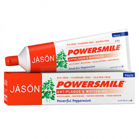 DENTIFRICO POWER SMILE 170g JASÖN Cosmética e higiene natural 9,62 €