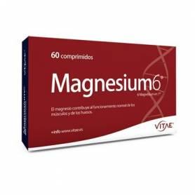 MAGNESIUM 6 60comp VITAE Suplementos nutricionales 17,96€