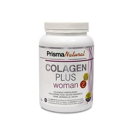 COLAGEN PLUS WOMAN POLVO 300g PRISMA NATURAL Suplementos nutricionales 23,88€