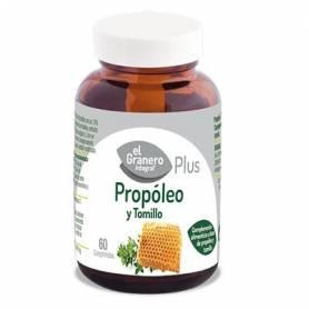 PROPOLEO Y TOMILLO PLUS 490mg 60comp EL GRANERO INTEGRAL Plantas Medicinales 13,21€