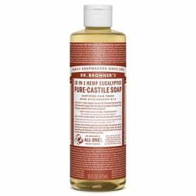 JABON DE CASTILLA LIQUIDO EUCALIPTO 473ml DR. BRONNER'S Cosmética e higiene natural 14,49€