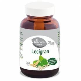 LECIGRAN PLUS 740mg 360perl EL GRANERO INTEGRAL Plantas Medicinales 12,62€