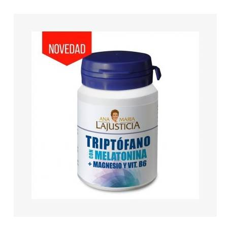TRIPTOFANO CON MELATONINA MAGNESIO VIT B6 60cap ANA MARIA LAJUSTICIA Suplementos nutricionales 11,69€