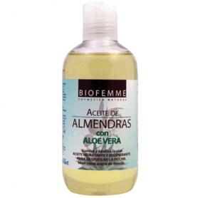 ACEITE ALMENDRAS CON ALOE VERA 250ml YNSADIET Cosmética e higiene natural 6,55€