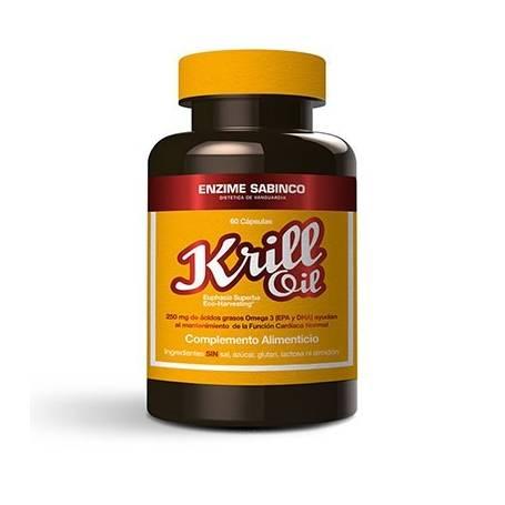 ACEITE DE KRILL 500mg 60cap ENZIME SABINCO Suplementos nutricionales 25,46€