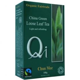 TE VERDE CHINA HOJAS BIO 100g QI Plantas Medicinales 3,58€