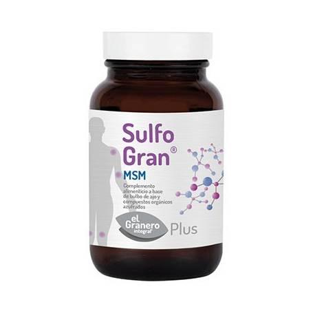 SULFOGRAN MSM PLUS 550mg 100comp EL GRANERO INTEGRAL Suplementos nutricionales 16,85€