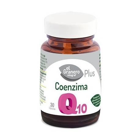 COENZIMA Q10 PLUS 595mg 30cap EL GRANERO INTEGRAL Suplementos nutricionales 15,56€