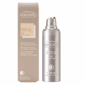 MAQUILLAJE NATURAL FINISH 02 30ml LOGONA