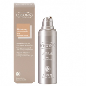 MAQUILLAJE NATURAL FINISH 03 30ml LOGONA