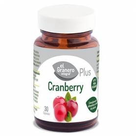 CRANBERRY PLUS 460mg 30cap EL GRANERO INTEGRAL