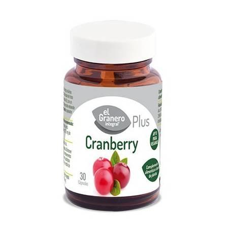 CRANBERRY PLUS 460mg 30cap EL GRANERO INTEGRAL Plantas Medicinales 14,87€