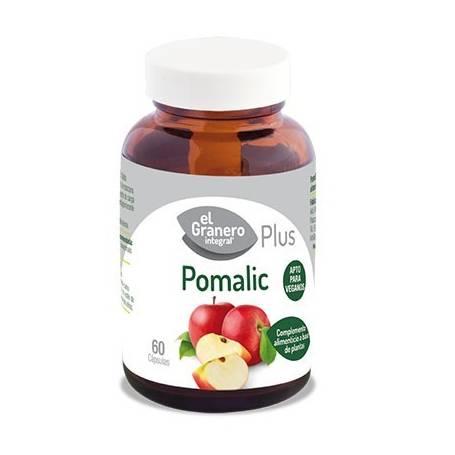 POMALIC PLUS 640mg 60cap EL GRANERO INTEGRAL Plantas Medicinales 7,69€