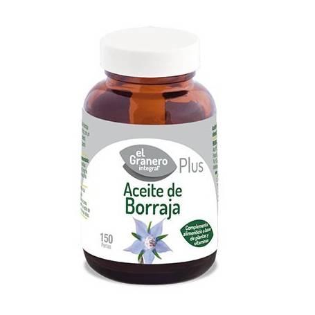 ACEITE DE BORRAJA PLUS 700mg 150perl EL GRANERO INTEGRAL Plantas Medicinales 13,28€