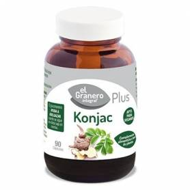 KONJAC PLUS 610mg 90cap EL GRANERO INTEGRAL