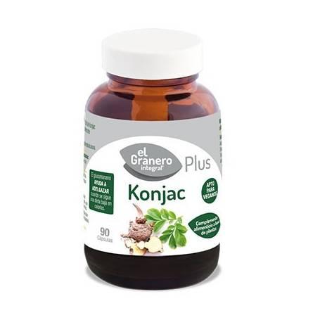 KONJAC PLUS 610mg 90cap EL GRANERO INTEGRAL Plantas Medicinales 8,42€