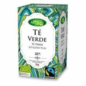 TE VERDE INFUSION BIO 20ud ARTEMIS Plantas Medicinales 1,95€