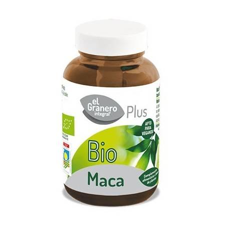 MACA PLUS BIO 560mg 60cap EL GRANERO INTEGRAL Plantas Medicinales 7,65€