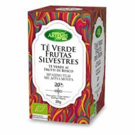 TE VERDE CON FRUTAS SILVESTRES INFUSION BIO 20ud ARTEMIS Plantas Medicinales 2,41€