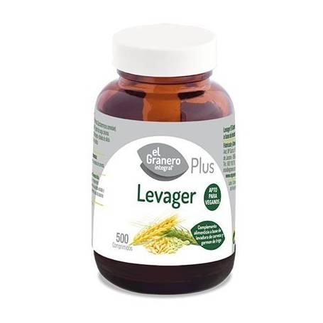 LEVAGER PLUS 400mg 500comp EL GRANERO INTEGRAL Suplementos nutricionales 7,61€