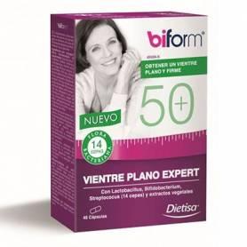 50+ VIENTRE PLANO EXPERT 48cap DIETISA